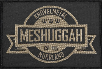 naszywka MESHUGGAH - KNÖVELMETAL NORRLAND
