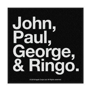 naszywka THE BEATLES - JOHN, PAUL, GEORGE & RINGO