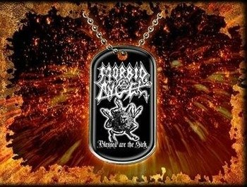 nieśmiertelnik MORBID ANGEL - BLESSED ARE THE SICK
