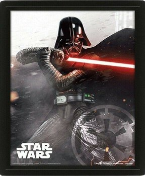 obraz w ramie 3D STAR WARS - VADER vs. SKYWALKER