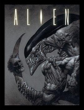 obraz w ramie ALIEN - HEAD ON TAIL
