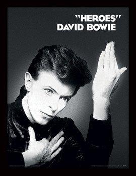obraz w ramie DAVID BOWIE - HEROES