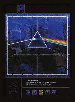 obraz w ramie PINK FLOYD - DARK SIDE OF THE MOON (30TH ANNIVERSARY)