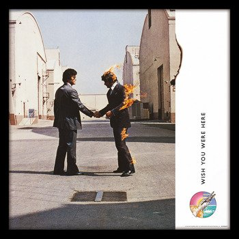 obraz w ramie PINK FLOYD - WISH YOU WERE HERE