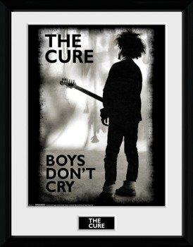 obraz w ramie THE CURE - BOYS DON'T CRY