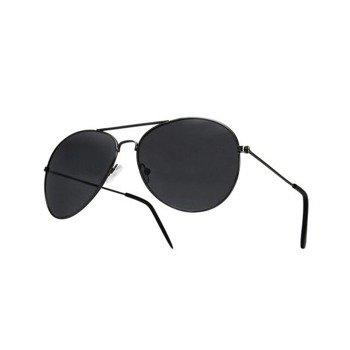 okulary przeciwsłoneczne AVIATOR BLACK