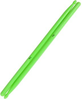 pałki do perkusji MES 7A - EBONIT green