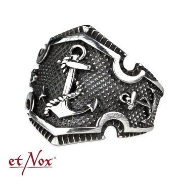 pierścień ANCHOR, srebro 925