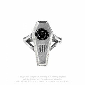 pierścień RIP ROSE