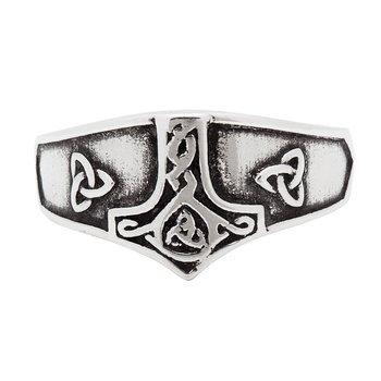 pierścień THORS HAMMER ,srebro 925
