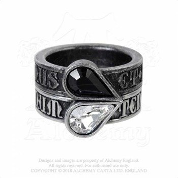 pierścień TWIN HEART PROMISE