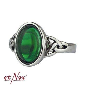 pierścionek CELTIC GREEN