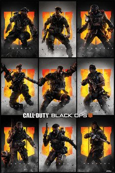 plakat CALL OF DUTY: BLACK OPS 4 - CHARACTERS
