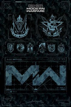 plakat CALL OF DUTY - MODERN WARFARE (FRACTIONS)