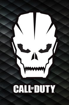 plakat CALL OF DUTY - SKULL