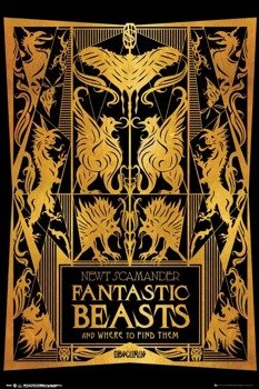 plakat FANTASTIC BEASTS 2 - BOOK COVER
