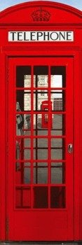 plakat LONDON - TELEPHONE BOX
