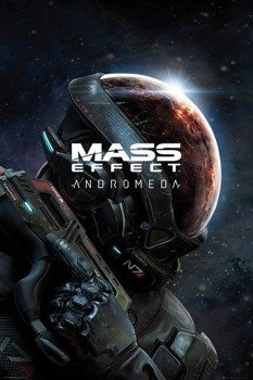 plakat MASS EFFECT ANDROMEDA - KEY ART