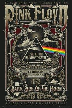 plakat PINK FLOYD - RAINBOW THEATRE