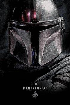 plakat STAR WARS: THE MANDALORIAN - DARK