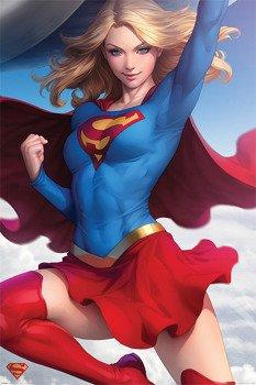 plakat SUPERMAN - SUPERGIRL