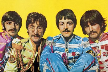 plakat THE BEATLES - LONELY HEARTS CLUB