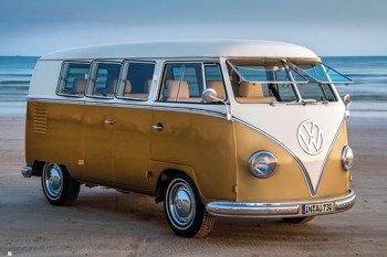 plakat VW - GOLD KOMBI III