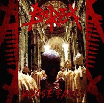 płyta CD: BOREA - WHOSE FAULT