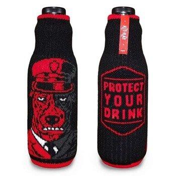 pokrowiec na butelkę/puszkę KIT-RAY - BIG BAD RED LARRY