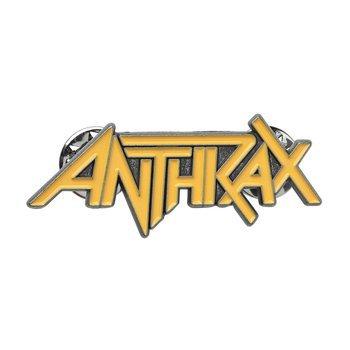 przypinka ANTHRAX - LOGO
