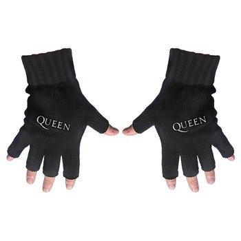 rękawiczki QUEEN - LOGO