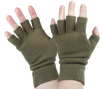 rękawiczki bez palców THINSULATE  BLACK