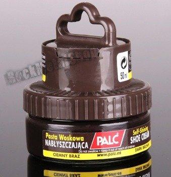 samopołyskowy krem z aplikatorem PALC kolor ciemny brąz