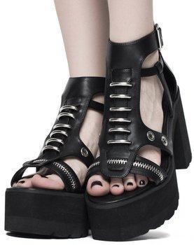 sandały damskie na platformie KILLSTAR - DARK ARTS