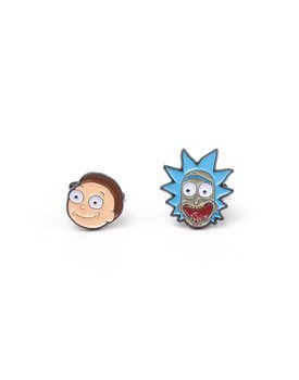 spinki do mankietów RICK AND MORTY - RICK AND MORTY