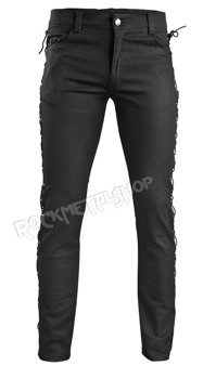 spodnie AMENOMEN - SIMPLE, unisex wiązane po bokach