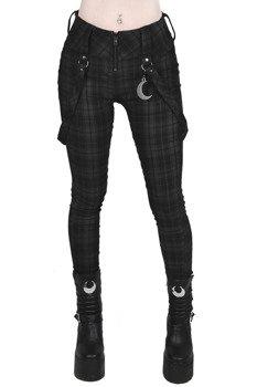 spodnie KILL STAR - DARKLANDS (TARTAN)