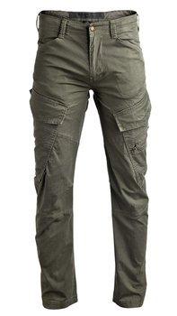 spodnie bojówki ADVEN TROUSERS SLIM FIT olive