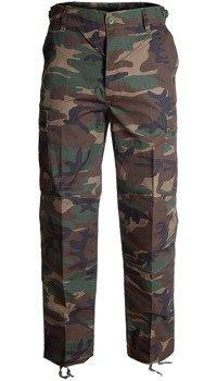 spodnie bojówki BDU RIPSTOP woodland