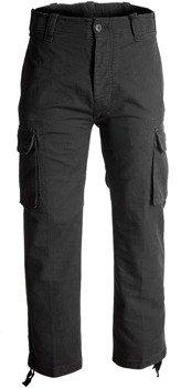spodnie bojówki HEAVY WEIGHT black