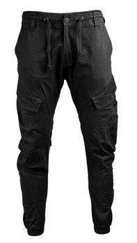 spodnie bojówki RAY VINTAGE - BLACK