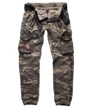 spodnie bojówki ROYAL TRAVELER SLIMMY - ROYALCAMO