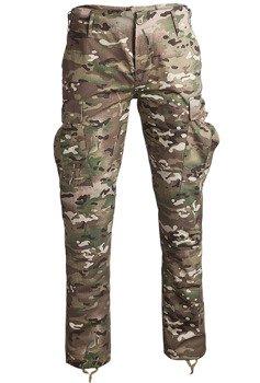 """spodnie bojówki US BDU FELDHOSE R/S """"SLIM FIT"""" MULTITARN"""