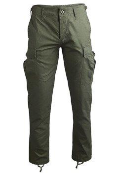 """spodnie bojówki US BDU FELDHOSE R/S """"SLIM FIT"""" OLIV"""