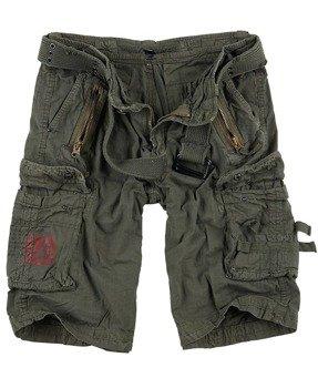 spodnie bojówki krótkie ROYAL SHORTS - ROYAL GREEN