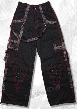 spodnie damskie LIVING DEAD SOULS (BLACK) (TR409)