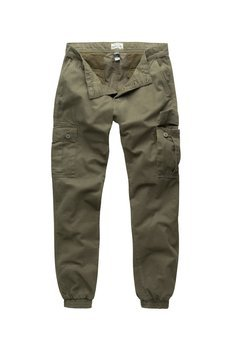 spodnie joggery BAD BOYS PANTS - OLIVE