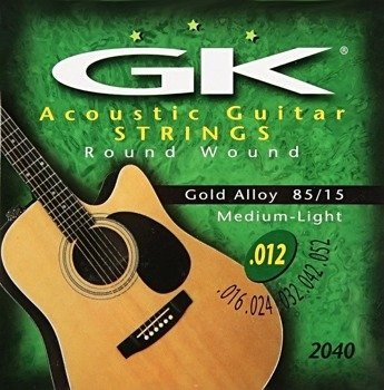 "struny do gitary akustycznej MEDINA ARTIGAS ""GK"" Gold Alloy, Medium Light /012-052/"