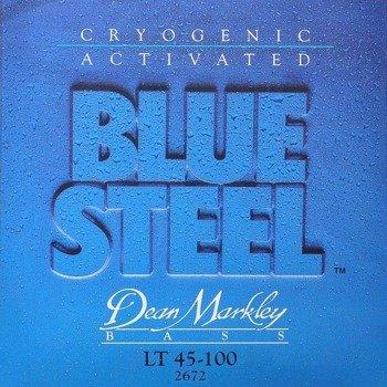struny do gitary basowej DEAN MARKLEY - BLUE STEEL LT 45-100