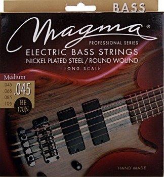 struny do gitary basowej MAGMA BE170N Nickel Plated / Round Wound MEDIUM /045-105/